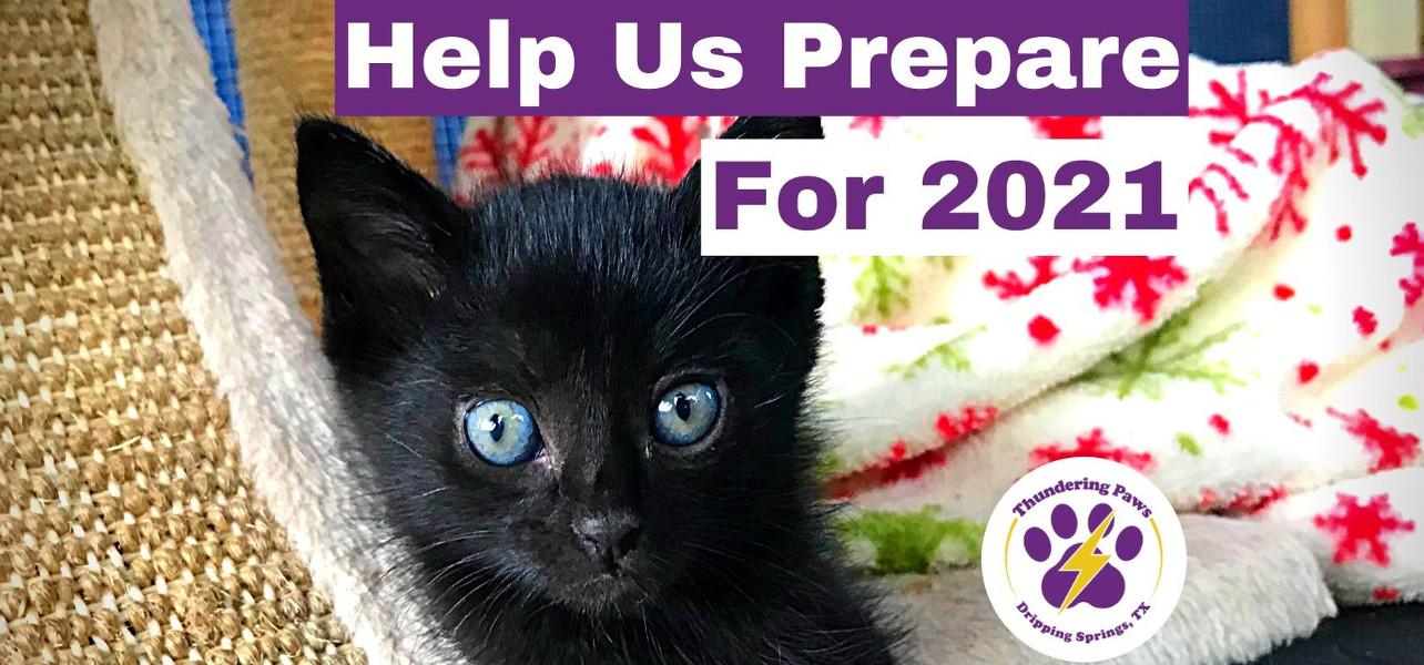 Help us prepare for 2021